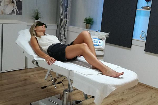 Dioden-Laser-Haarentfernung für alle Hauttypen